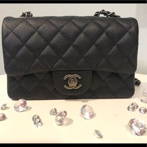 Handbags - C H A N E   Caviar rectangular Bag